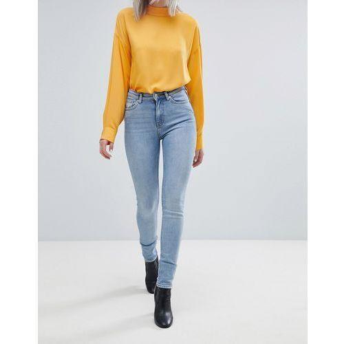 thursday high waist skinny jean - blue marki Weekday