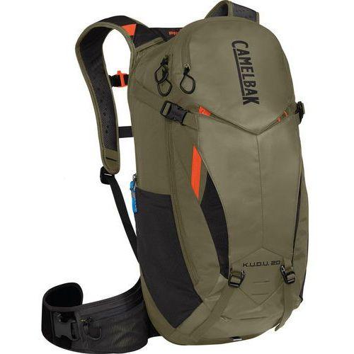 Camelbak k.u.d.u. protector 20 plecak oliwkowy m/l 2018 plecaki rowerowe (0886798010366)
