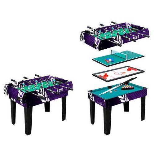 Stół do gry piłkarzyki, hokej, bilard 4w1 marki Worker