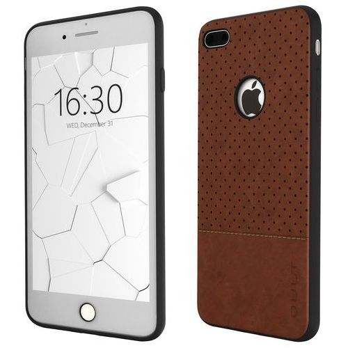 Qult Etui back case drop do iphone 7/8 brązowy (5901386713377)