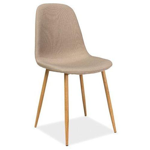 Krzesło Fox Beżowy, kolor beżowy