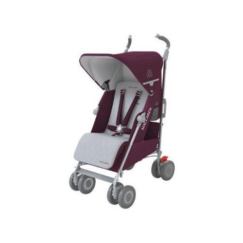 wózek spacerowy techno xlr plum/silver wyprodukowany przez Maclaren