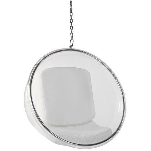 D2 Fotel bańska insp. bubble biała poduszka