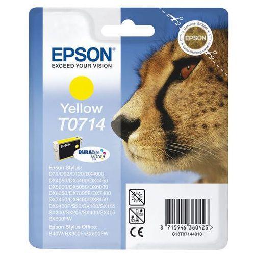 Oryginalny atrament  [t0714] yellow marki Epson
