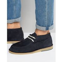 Selected Homme Ronni Suede Chukka Boots - Navy