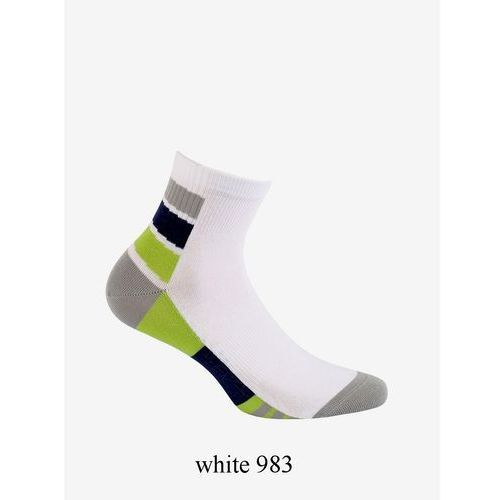 Zakostki w94.1n4 ag+ 42-44, biało-niebieski/whiteblue 977, wola marki Wola
