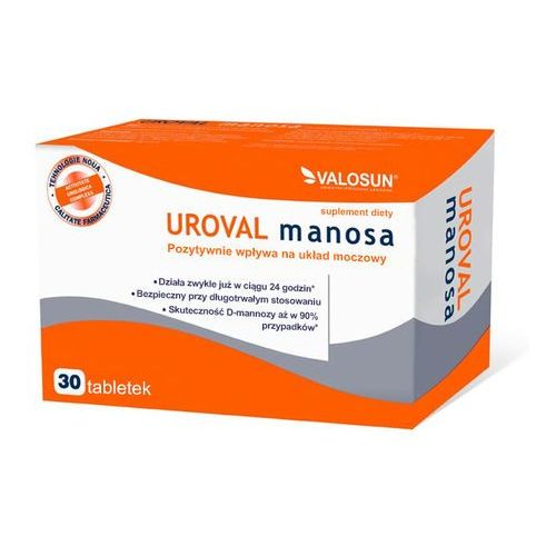 UROVAL MANOSA 30 tabletek