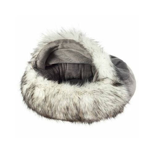 Poduszka Slipper large - silver fox