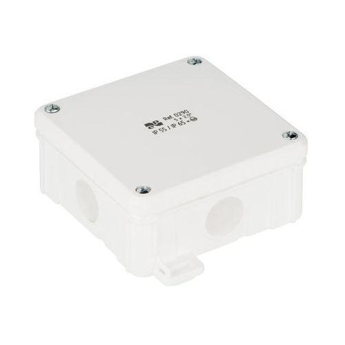 Puszka natynkowa Elektro-Plast 2K 98 x 98 x 46 mm IP65 biała