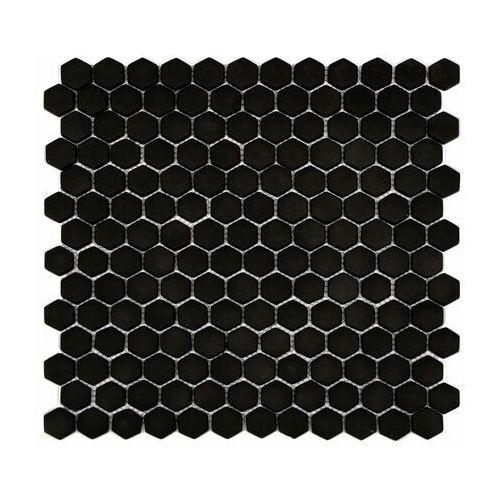 Artens Mozaika hexa black mat 30 x 30 (3276007151428)