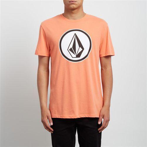 Koszulka - classic stone dd ss salmon (slm) rozmiar: l marki Volcom