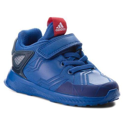 Buty adidas - RapidaRun Spider-Man El I AH2461 Croyal/Scarle/Conavy, kolor niebieski
