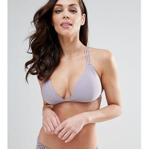 Peek & Beau Macrame Triangle Bikini Top B-F Cup - Multi, bikini