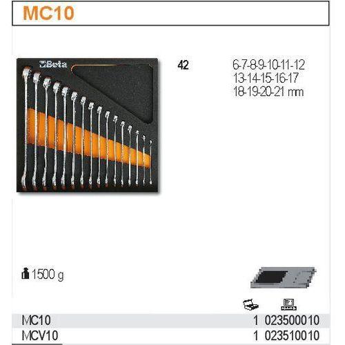 Zestaw narzędzi, 16 elementów, w miękkim wkładzie profilowanym, model 2350/mc10 marki Beta