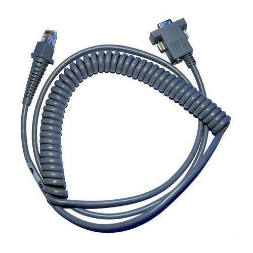 Kabel RS232 spiralny do czytników Datalogic (2.0 m)