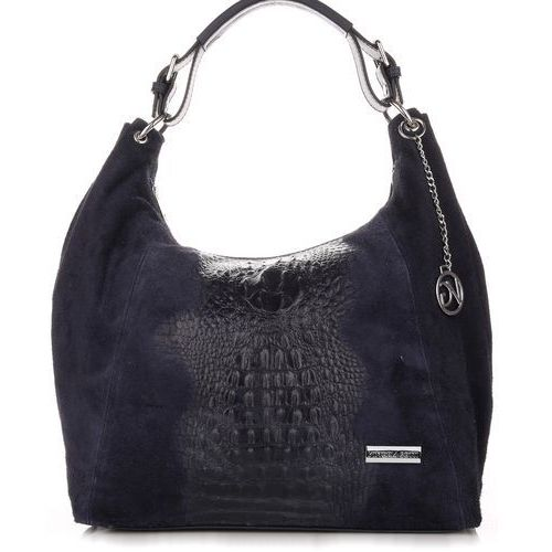 0fa7f335b6d75 VITTORIA GOTTI Made in Italy Torebka Skórzana Shopperbag w Tłoczone ...