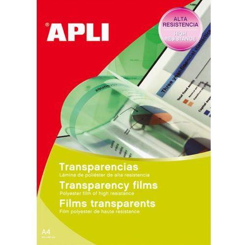 Apli Folia samoprzylepna , 210x297mm, 10szt., transparentna