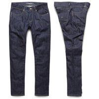 Spodnie - k sklim taper denim raw blue (raw) rozmiar: 26, Krew