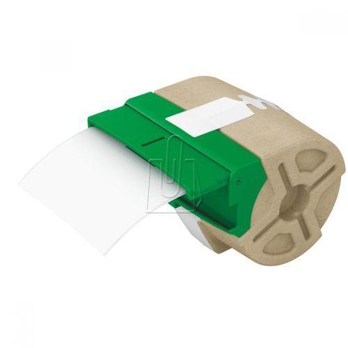 Kaseta z samoprzylepną plastikową taśmą do drukowania etykiet LEITZ Icon 88 mm biała, ES817