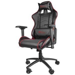 Natec Genesis fotel dla gracza nitro 880 czarny nfg-0911 - odbiór w 2000 punktach - salony, paczkomaty, stacje orlen (5901969407464)