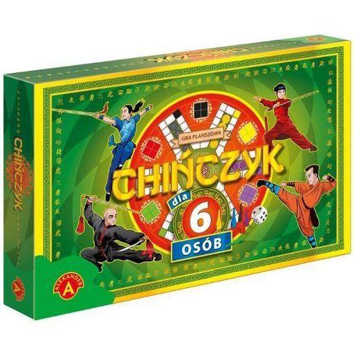 Gra ALEXANDER K4295 Chińczyk dla 6 osób, 5906018013931 (5295792)