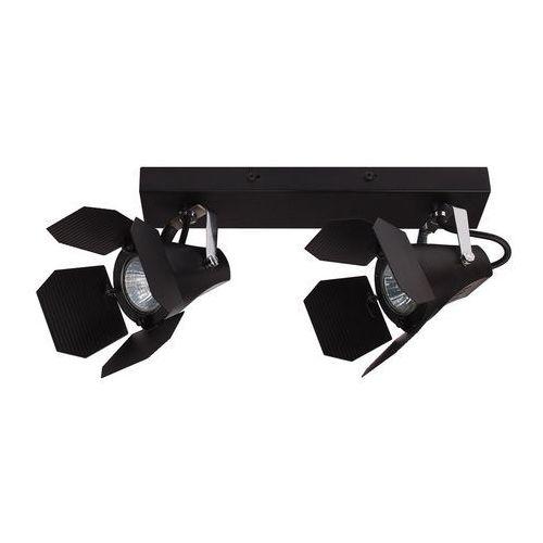 Italux Reflektorowa lampa sufitowa milton fh30922a modernistyczna listwa studyjna oprawa projektor czarny