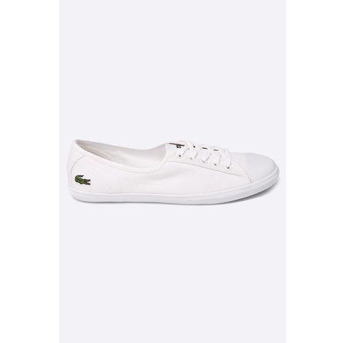 - tenisówki marki Lacoste