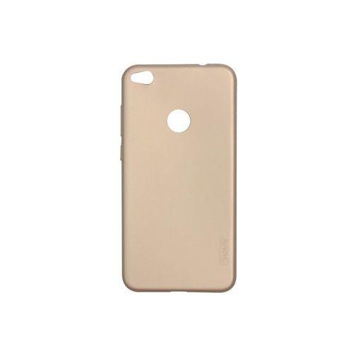 Huawei p9 lite (2017) - etui na telefon guardian - gold marki X-level