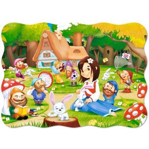 1-003495 Puzzle Królewka Śnieżka i siedmiu Krasnoludków - PUZZLE DLA DZIECI