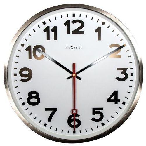 - zegar ścienny super station marki Nextime