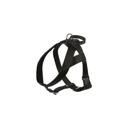 Dingo  szelki taśma z uchwytem 4cm czarne (5904760128491)