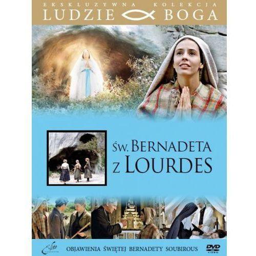 Praca zbiorowa Święta bernadeta z lourdes + film dvd