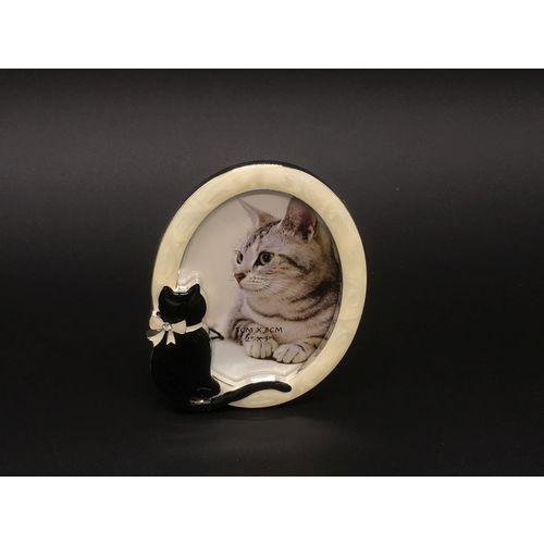 Ramka owalna z kotem (at09050aa) marki Veronese