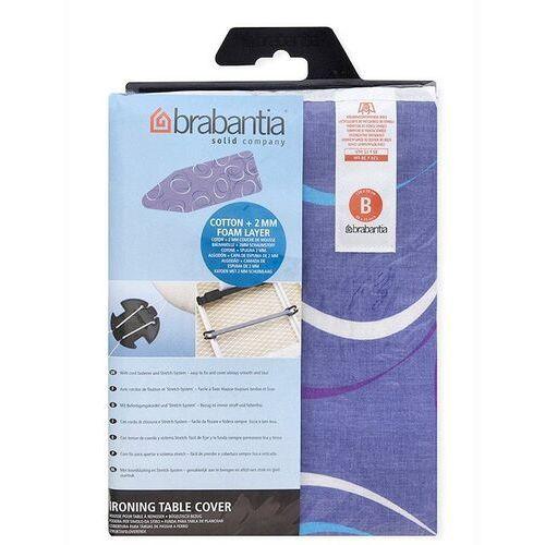 - pokrowiec na deskę do prasowania 124 x 45cm - pianka 4mm + filc 4mm - moving circles marki Brabantia