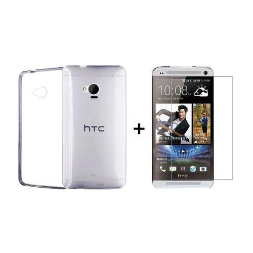Zestaw Szkło ochronne Perfect Glass + Obudowa Ultra Slim HTC One M7