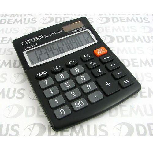 Kalkulator  sdc-812bn wyprodukowany przez Citizen