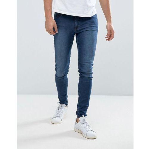 him spray jeans black sin - blue marki Cheap monday