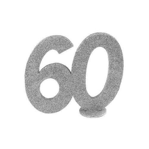San Dekoracja stołu sześćdziesiątka srebrna 60-tka - 1 szt.