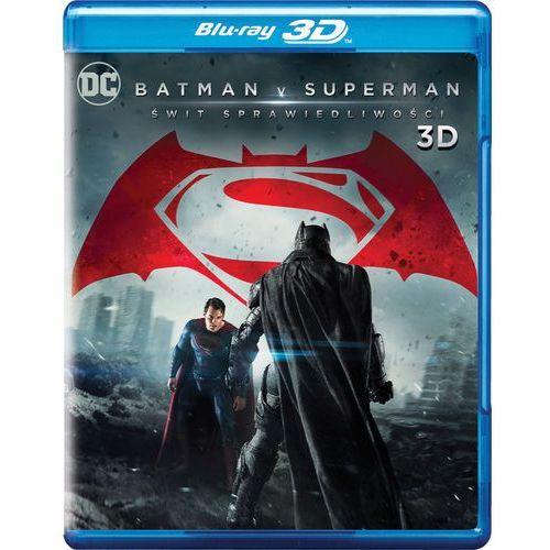 Zack snyder Batman v superman: świt sprawiedliwości 3d (blu-ray) - (7321999342111)