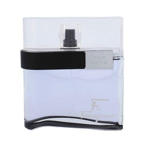 Salvatore Ferragamo F by Ferragamo Pour Homme Black 100ml woda toaletowa [M] (8032529118050)