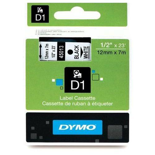 Dymo etykieta d1 12mmx7m czarny/biały s0720530 darmowa dostawa do 400 salonów !! (5411313450133)