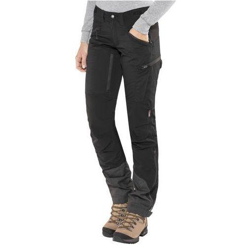 makke spodnie długie kobiety czarny 44-długie 2018 spodnie turystyczne marki Lundhags
