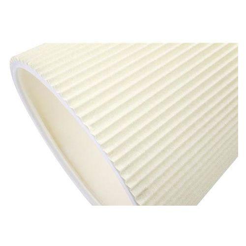 Kinkiet rayon arm wall biały - led, klosz z tkaniny marki King home