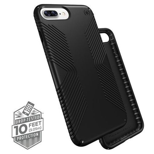 presidio grip - etui iphone 8 plus / 7 plus / 6s plus / 6 plus (black/black) marki Speck