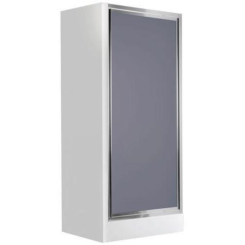 Drzwi wnękowe uchylne DEANTE Flex KTL 411D Szkło grafitowe