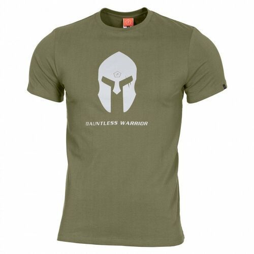 T-shirt ageron spartan helmet, olive (k09012-sh-06) - olive marki Pentagon