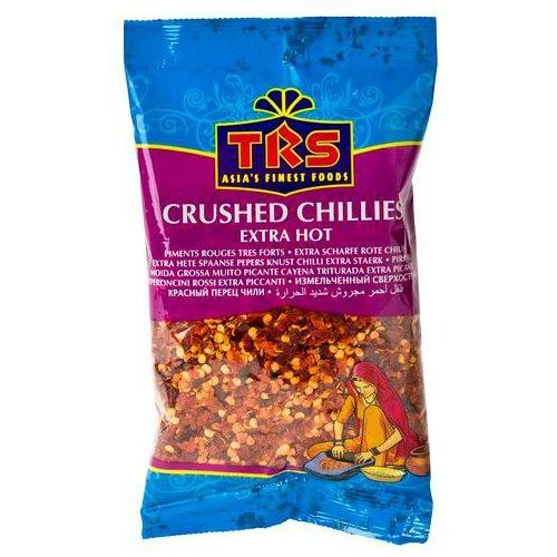Trs Chili płatki ostre (crushed chillies extra hot) 100 gram (5017689010355)