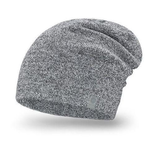 Pamami Męska czapka zimowa 17012/2 - jasny szary (5902934013437)
