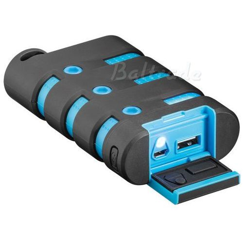 Mobilna bateria power bank  43756 10050mah outdoor marki Goobay