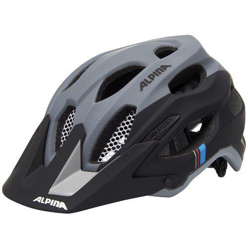 Alpina carapax kask rowerowy szary/czarny 53-57cm 2018 kaski rowerowe (4003692238658)